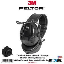 3M Peltor 97451, Tactical Sport Hearing Protector, NRR: 20dB, Folding Earmuff
