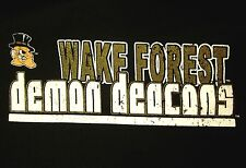 Wake Forest tee Xl Demon Deacons mascot T shirt North Carolina basketball
