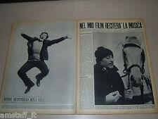 DOMENICO MODUGNO clipping ritaglio articolo foto photo GENTE 1963/6=