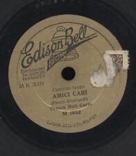 disco 78 giri 78rpm record TORMENTO Carlo Buti   EDISON BELL x grammofono