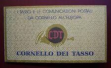1993  Italia Libretto Cornello dei Tasso 5v 750 lire  MNh**