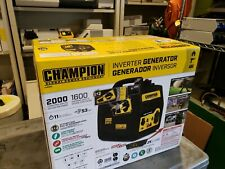 Champion Power Equipment 2,000-Watt Gasoline Portable Inverter Generator-100565