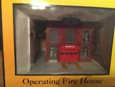 MTH Operating Fire House 30-9157 Engine Company 49 W/Red Fire Truck NIB