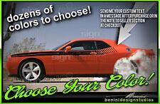 Rt Side Racing Stripes Fits 2008 2014 Dodge Challenger Sxt Rt Srt8