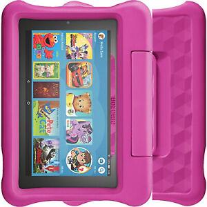 "New Amazon Fire 7"" Kids Tablet (2019) 16GB + 1GB Pink Kids Edition WI-FI (No 4G)"