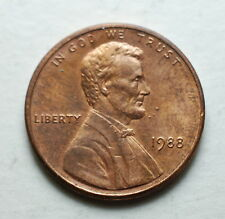 1988 USA 1 Cent Copper IN Excess