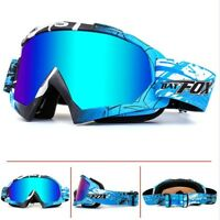 BAT-FOX Snowboard Ski Goggles Anti Fog Double Layers Eye Protection Glasses NEW