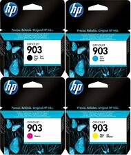 4x ORIGINAL HP 903 TINTE PATRONEN OfficeJet 6950 6962 6960 6961 6963 6964 6965