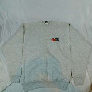 VTG 1993 Mike Lange Hockey Hounds Pullover Sweater Look Out Loretta 100% Cotton