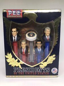 PEZ Presidents Volume 9 IX Sealed in Box OBAMA BUSH CLINTON  W!