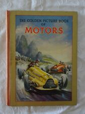 The Golden Picture Book of Motors | Ward, Lock & Co. c.1950s illustrated