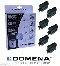6 Cartouche Cassette anticalcaire DOMENA 970812 Type a centrale EMC 410057