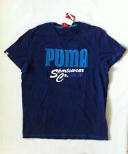 BNWT PUMA Men's Short Sleeve T-Shirt Sz Small new Blue