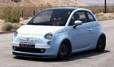 Splitter ANTERIORE (gloss black) per Fiat 500 (2007-2014)
