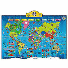 ThinkGizmos TG661 Interactive Talking World Map for Kids