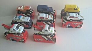 Vintage Corgi Juniors all in mint or near mint condition with original boxes