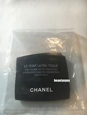 5 x Chanel Le Teint Ultra Tenue Foundation 132 CHOCOLAT 0.9ml / 0.03oz each
