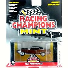 2016 Series RC Racing Champions Mint 1971 Plymouth GTX Brown 1:64 Scale Die Cast