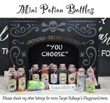 "Target Bullseye's Playground Halloween Mini Potion Bottle ""You Choose"" New'20"