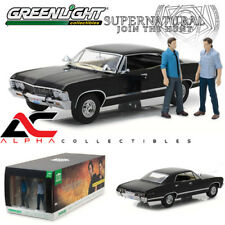 GREENLIGHT 19021 1:18 1967 CHEVROLET IMPALA SUPERNATURAL WITH SAM & DEAN FIGURES