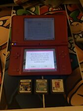 Nintendo DSi XL Super Mario Bros.25th Anniversary Edition Bundle Pokemon Sonic