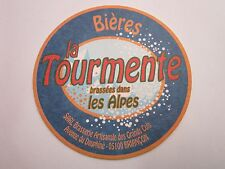 Beer Coaster ~ Brasserie Artisanale des GRAND COLS Tourmente ~ Briancon, FRANCE