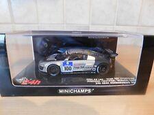 Minichamps 1:43 coche modelo audi r8 LMS equipo Abt Sportsline 2009 nº 100 OVP