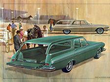 1963 Dodge 440 & 330 Station Wagons, Refrigerator Magnet, 40 MIL