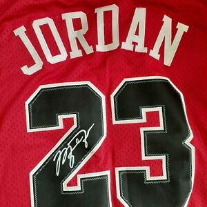 Michael Jordan Chicago Bulls Autographed Authentic Signed NikeJersey w/C.O.A.