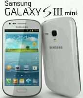 Sim Free Brand New SAMSUNG GALAXY S3 mini GT-I8190N MARBLE WHITE UNLOCKED 8-GB