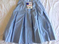 Nwt Royal Park School Uniform Style 143 Color 02 Blue Size 8 Teen Skirt