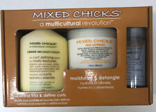 Mixed Chicks Quad Pack - Shampoo/Deep Conditioner/Leave In Conditioner/hair Silk