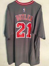 c1d5852c223 Adidas NBA Jersey Chicago Bulls Jimmy Butler Grey SS sz 3X