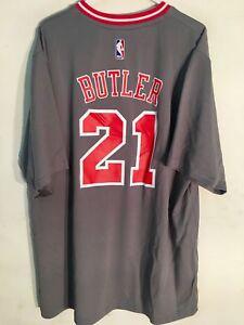 Adidas NBA Jersey Chicago Bulls Jimmy Butler Grey SS sz 3X