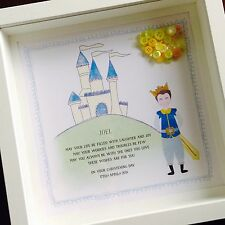 Personalised Holy Communion/Christening/Baptism In A Frame