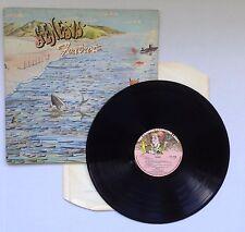 GENESIS Foxtrot LP Vinyl 1972 Matrix: CAS 1058  A1U  PORKY /  CAS1058 B 1U PECKO