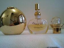 Vintage Christian Dior Dolce Vita Pure Parfum 7.5ml Refill Gold Purse Rare