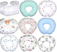 Stillkissen für Baby Lagerungskissen inkl. Bezug Baumwolle Mikrofaser