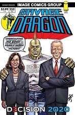 Savage Dragon #253 President Joe Biden Kamala Harris Victory Cover (Nm) 2020