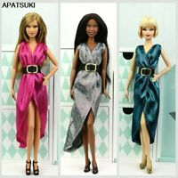 """3pcs/lot Fashion Doll Clothes For 11.5""""1/6 Doll Outfits Evening Dress Gown Toy"""