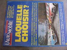 $$t Revue L'automobile Magazine N°367 Formule 1  Peugeot 104  Autobianchi A 112