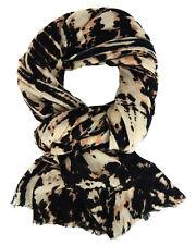 Ella Jonte Schal beige schwarz weich wärmend Damenschal Winterschal Winter