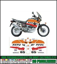 kit adesivi stickers compatibili xrv africa twin rd 03 rd 04 rd 07