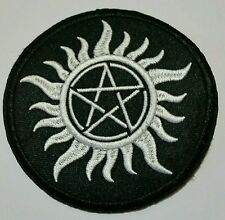 Supernatural embroidered patch
