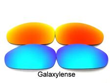 Galaxy Replacement Lenses For Oakley Straight Jacket Blue&Red Polarized (2007)