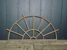 19th Century Victorian Industrial Cast Iron Fan Light Window Frame
