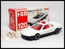 TOMICA #120 HONDA NSX PATROL CAR POLICE 1/59 TOMY  NEW  DIECAST CAR 120