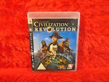 ps3 CIVILIZATION REVOLUTION Sid Meier's Turn Based Strategy Game PAL