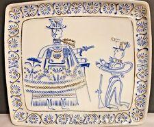 VTG HOLLOHAZA KEZZEL FESTETT 1834 PORCELAIN WALL PLAQUE PLATE