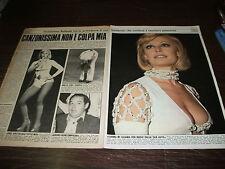 Clipping ritaglio ottobre 1974 - RAFFAELLA CARRÀ, HELMUT KOINIGG -